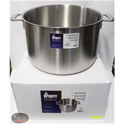 NEW UPDATE INTERNATIONAL 47 QT S/S STOCK POT