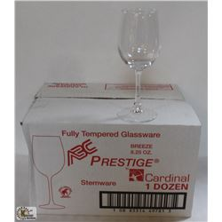 CARDINAL BREEZE 8.25 OZ PRESTIGE STEMWARE, 1 CASE
