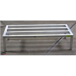 "UPDATE 20"" X 48"" HEAVY DUTY ALUMINUM DUNNAGE RACK"