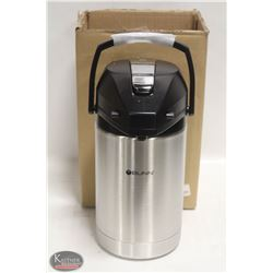 NEW BUNN STAINLESS STEEL 2.5L LEVER AIRPOT