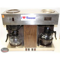 BUNN BUNN-OMATIC DUAL-HEAD COFFEE MAKER