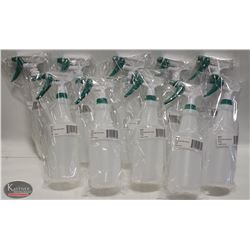 LOT OF 10 NEW WINCO 28 OZ SPRAY BOTTLES