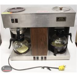 BUNN-O-MATIC DUAL HEAD COFFEE MAKER