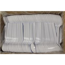 CASE OF 1000 DIXIE HEAVY MEDIUM WEIGHT PLASTIC