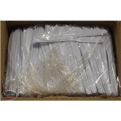 CASE OF 1000 CARY-OUT PLASTIC KNIVES