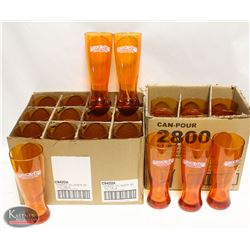 LOT OF 22 SHOCK TOP 20 BEER GLASSES