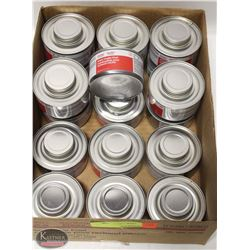 FLAT OF 18 CANS OF CHAFING DISH FUEL