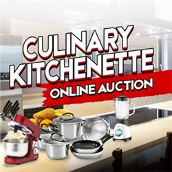 WELCOME TO KASTNER'S CULINARY KITCHENETTE ONLINE AUCTION