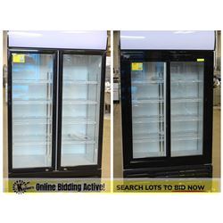 FEATURED LOTS: NEW COMMERCIAL UPRIGHT COOLERS