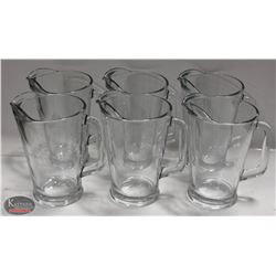 CASE OF NEW LIBBEY 60 OZ GLASS PITCHERS