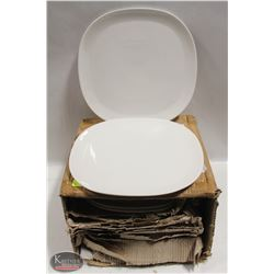 """CASE OF NEW 12.5"""" DINNER PLATES APPROX. 15"""