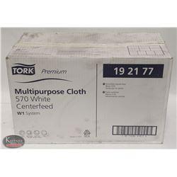 CASE OF TORK PREMIUM MULTI-PURPOSE CLOTH 570 WHITE