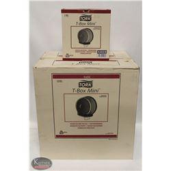 LARGE CASE OF TORK T-BOX MINI'S (12 UNITS EACH)