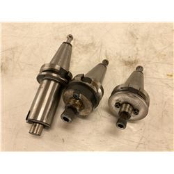 (3) BT40 Shell End Mill Holders