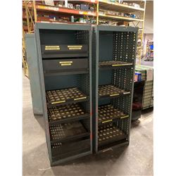 (2) 40 Taper Tool Holder Racks