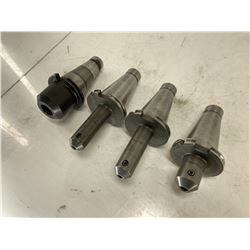(4) NMTB50 End Mill Holders