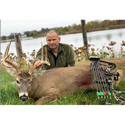 Safari Unlimited 6 day Missouri whitetail deer hunt for 2 hunters.