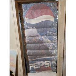 "Vintage Pepsi screen art sticker (see through) 6' X 30"""