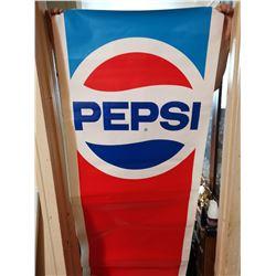 "Vintage Pepsi sticker 6' X 28"""