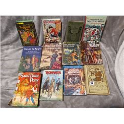 12 old (Some Western) books