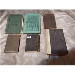 Lot of old german language books