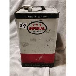 Imperial oil tin