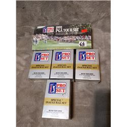 5 boxes of PGA cards, never opened