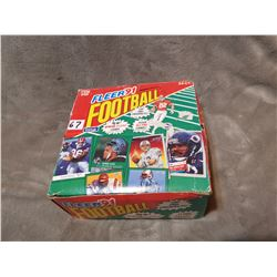 Box of NFL cards 24 packages of 53 over 1000 cards