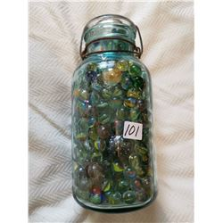 Big jar of marbles