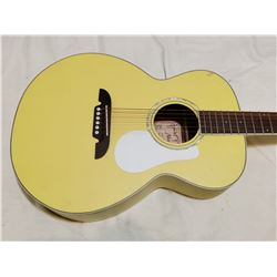 Older yellow guitar