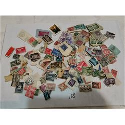 Lot of foreign stamps