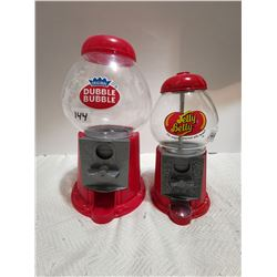 Die cast Jelly Belly and double bubble gum machines