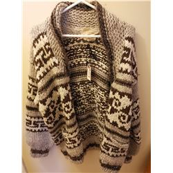 213.  Cowichan sweater, large size