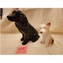 228.  Sylvac dogs, England