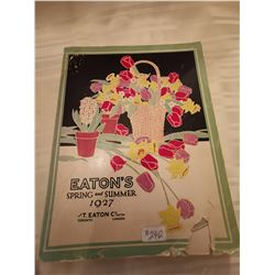 242.  Eaton's Spring and Summer catalogue, 1927