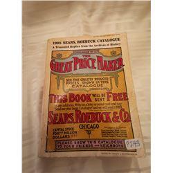 243.  1908 Sears & Roebuck catalogue, reprint 1969