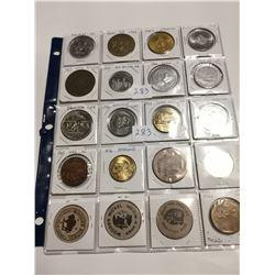20 different older tokens