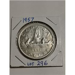 1957 Silver $1 XF