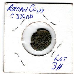 311 330 AD DEDICATION OF CONSTANTINOPLE ROMAN COIN