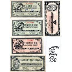 338 VINTAGE CANADIAN TIRE MONEY
