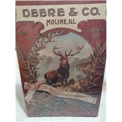 """Deere and Co Moline, Il sign 17"""" X 25"""" poster"""