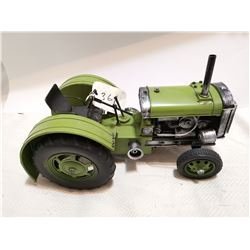 """Large tin reproduction tractor 14"""""""