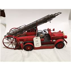 """Large tin reproduction fire engine 18"""""""