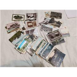 174 vintage postcards