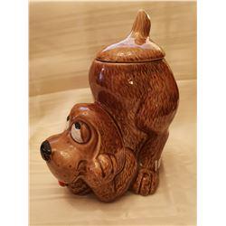 "405.  McCoy cookie jar, ""Puppy"", #0272, USA"