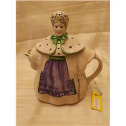 """409.  """" Granny Ann""""  7 cup Teapot, patented by Shawnee Pottery, USA"""