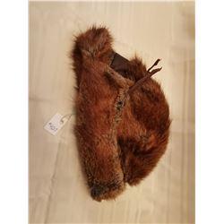 427.  Muskrat hat, Western Furs Manufacturing