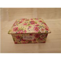 "434.  Chintz dresser jar, ""Shrewsbury"" pattern, Royal Winton, England"