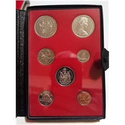 1971 Proof set with silver dollar