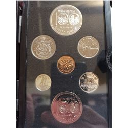 1974 Proof set with silver dollar